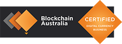 Blockchain Australia Gold Certified Digital Currency Business